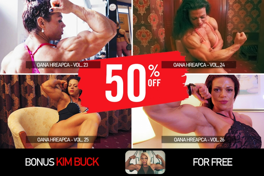 Latest 4 videos of Oana Hreapca 50% OFF
